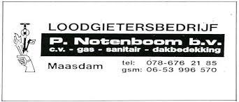 Loodgietersbedrijf P.Notenboom